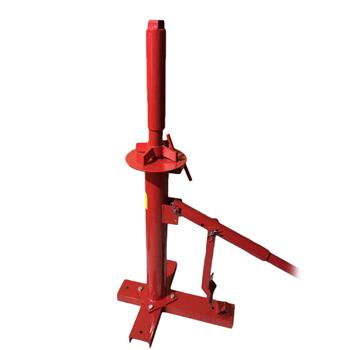 New Manual Portable Hand Tire Changer Bead Breaker Tool Mounting Home Shop Auto Red