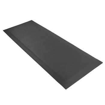 "24"" x 70"" x 1/2"" Non slip Professional Rectangular Medical Anti Fatigue Floor Mat Black"