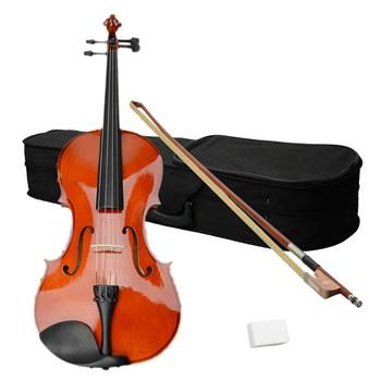"16"" Acoustic Viola   Case   Bow   Rosin Nature Color"