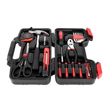 39pcs Tool Kit Red