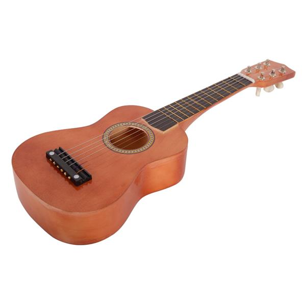 "Ktaxon 21"" 6 Strings Beginner Practice Acoustic Guitar Musical Instrument (Brown)"