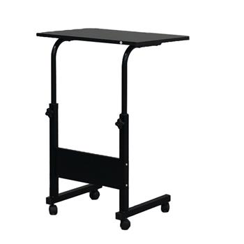 Removable E1 15MM Chipboard & Steel Side Table with Baffle Black S