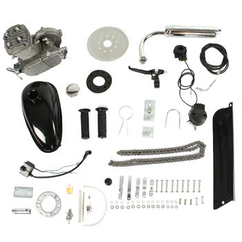 50cc Petrol Gas Engine Kit Silver