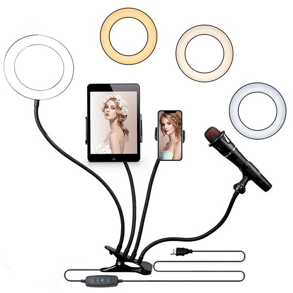 "Kshioe 6"" 4 in 1 Desktop Clip Light Set(DO NOT SELL ON AMAZON)"