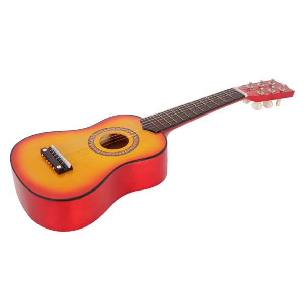 "Ktaxon 21"" 6 Strings Beginner Practice Acoustic Guitar Musical Instrument (Orange)"