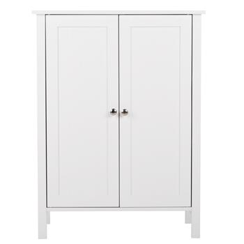 FCH Double Doors Bathroom Cabinet White