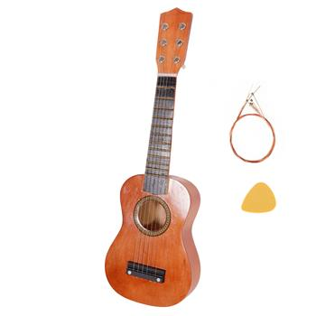 "21"" Acoustic Guitar   Pick   String Coffee"