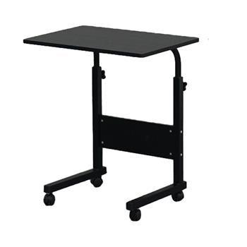 Removable P2 15MM Chipboard & Steel Side Table with Baffle Black