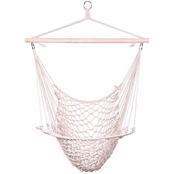 Hanging Rope Air/Sky Chair Swing beige