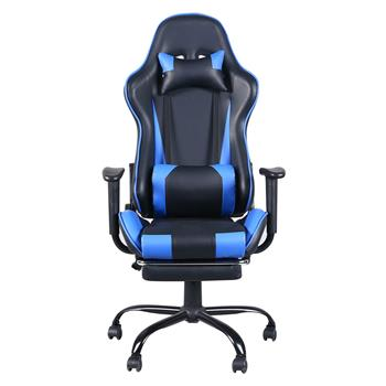 Home Office Chair Computer Swivel Chair Black&Blue