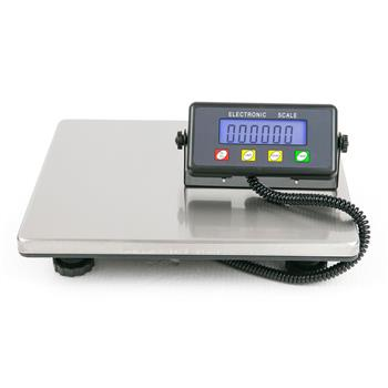 SF-887 200kg / 50g High Quality Digital Postal Scale Silver Without Adapter Black