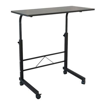 Removable E1 15MM Chipboard & Steel Side Table Black