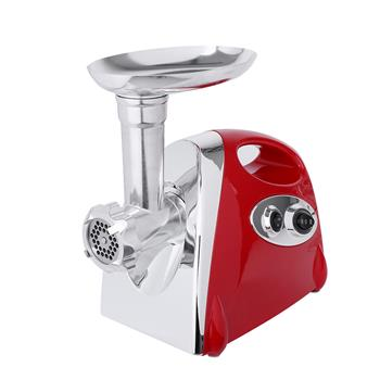 Electric Meat Grinder Sausage Maker with Handle Red