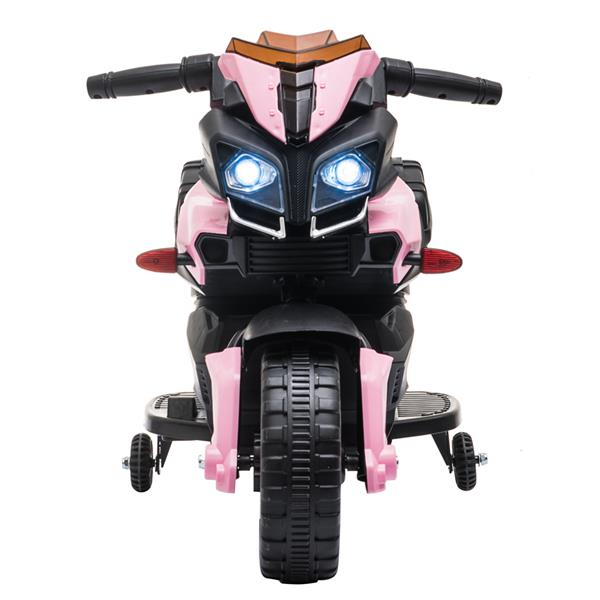Kids Electric Motorcycle Ride-On Toy 6V Battery Powered with Music