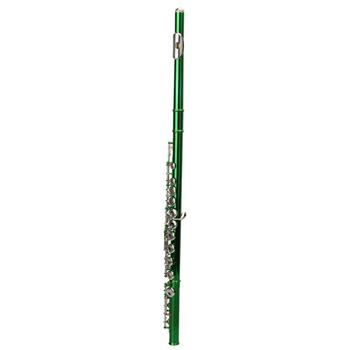 Cupronickel C 16 Closed Holes Concert Band Flute Green