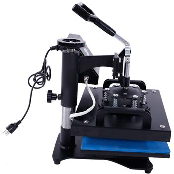 30 x 23 Rotary Heat Press Machine with LCD Temperature Control for T-shirt Black