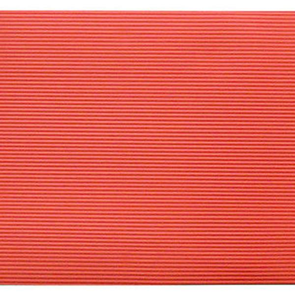 BalanceFrom GoYoga All-Purpose 1/2-Inch Extra Thick High Density Anti-Tear Exercise Yoga Mat with Carrying Strap, Red