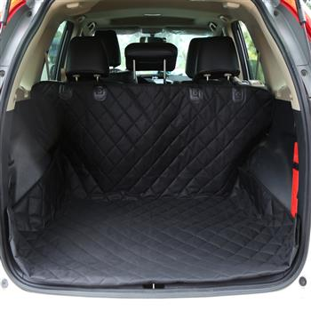 Luxury Pet SUV Cargo Cover & Liner For Dogs Black, Quilted Waterproof