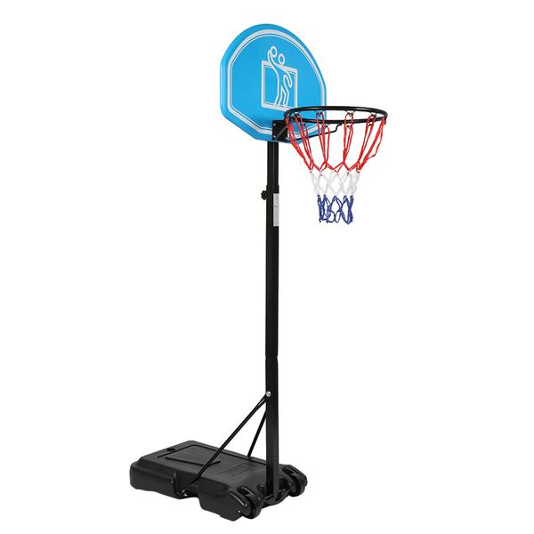 HY-012-B03 Portable Kid Teenager Indoor Outdoor Basketball Stand Maxium Applicable Ball Model 7#