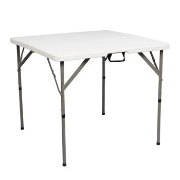 "34"" Blow Molding Foldable Square Table(only table)"