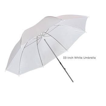 "Kshioe 33"" Studio Flash Soft Umbrella White(Do Not Sell on Amazon)"