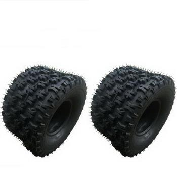 2* 18x10-8 ATV Tire Tubeless BIAS 18x10x8 18-10-8 OD:449mm