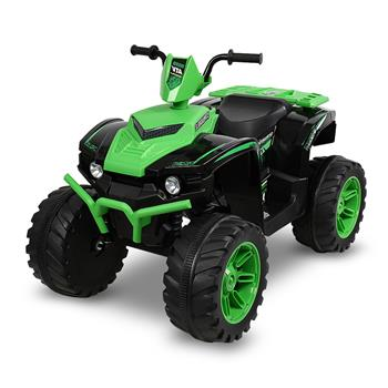 LEADZM LZ-9955 ALL Terrain Vehicle Dual Drive Battery 12V7AH*1 without Remote Control with Slow Start Green