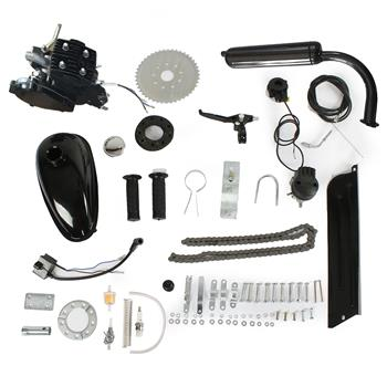 50cc Petrol Gas Engine Kit Black