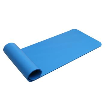 10mm Thick NBR Pure Color Anti-skid Yoga Mat 183x61x1cm Blue