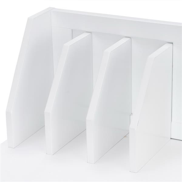 Spray Paint Student Table and Chair Set B, White (90*46.5*81cm)