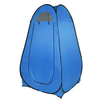 1-2 Person Portable Pop Up Toilet Shower Tent Changing Room Dressing Tent Camping Shelter Blue