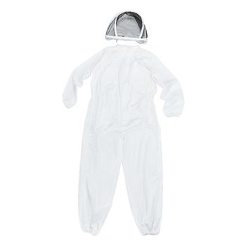New Professional Polyester Cotton Full Body Beekeeping Suit with Veil Hood Size XL