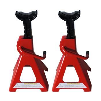 2 Tons Jack Stands Red Powder Coating