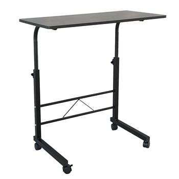 Removable P2 15MM Chipboard & Steel Side Table Black