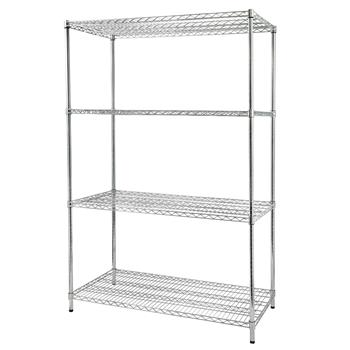 4-Shelf Wire Shelving Unit