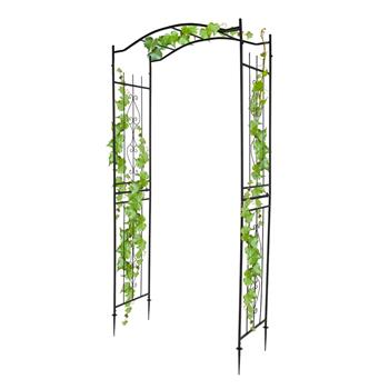 Bridge Roof Wrought Iron Arches Plant Climbing Frame