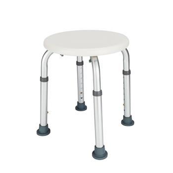 FCH Medical Bathroom Safety Shower Tub Aluminium Alloy Bath Chair Bench with Adjustable Height White