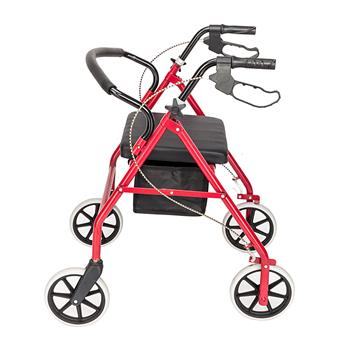 Iron Walker with Wheels Black & Red