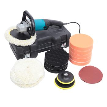 """7 """" Variable Speed Polishing Machine 1600W [Actual 1000W] Accessories Set"""