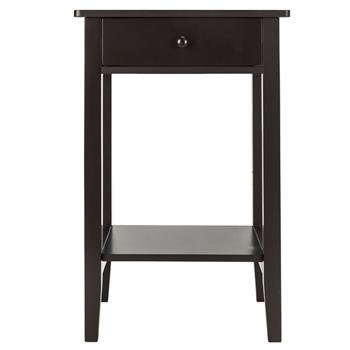 Two-layer Bedside Table Coffee Table with Drawer Coffee