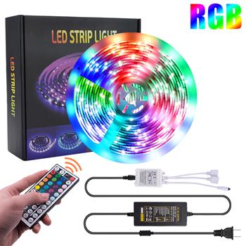12V-5050RGB 44 Keys 5 Meters 150 Lights (24W) Light Belt Epoxy Waterproof Version