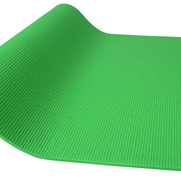 BalanceFrom GoYoga All Purpose High Density Non-Slip Exercise Yoga Mat with Carrying Strap,Green