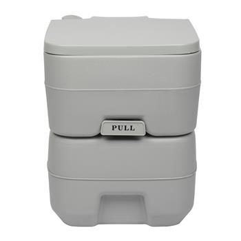 20L Portable Removable Flush Toilet with Single Outlet