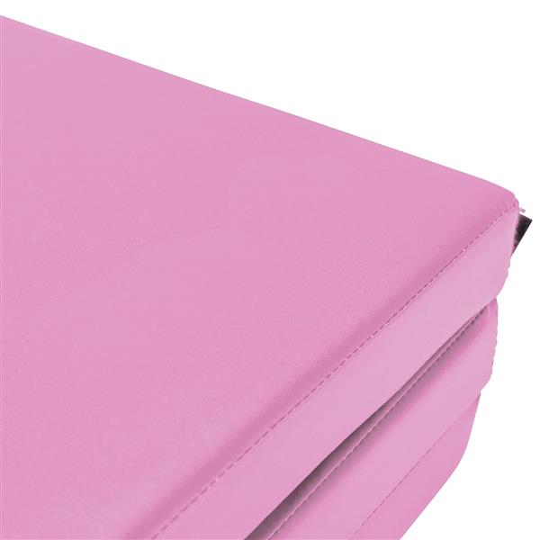 """4""""*10""""*2"""" Four-Folded Gymnastic Mat Pink"""