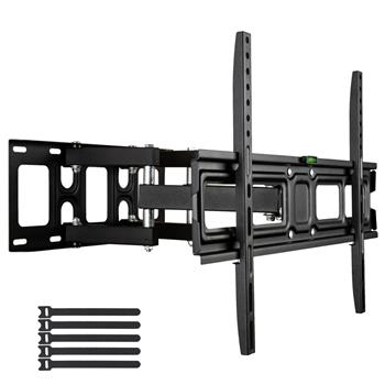 LEADZM 32-70 Inch Double Pendulum Large Base TV Stand Tmds-101 Bearing 50Kg/Vese600*400/Upper And Lower-10~ 10°