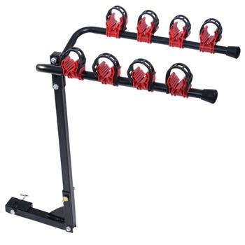 Portable Quick Release Bike Carrier Black & Red