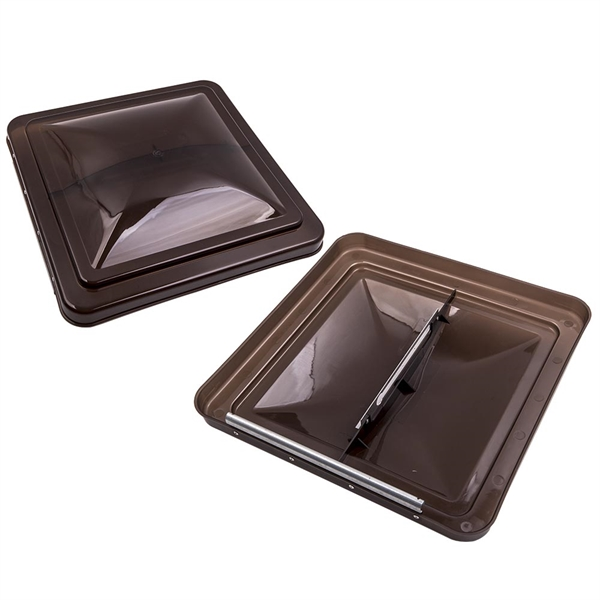 """1 Pair 14"""" x14"""" Top Roof Vent Lid Cover Ventline for Camper Trailer"""