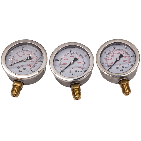 液压测试套件Hydraulic Pressure Testing Gauge Diagnostic Couplings Kit For Excavator