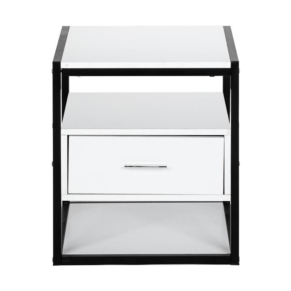 Modern And Simple Style Nightstand - One Smoke (Middle)