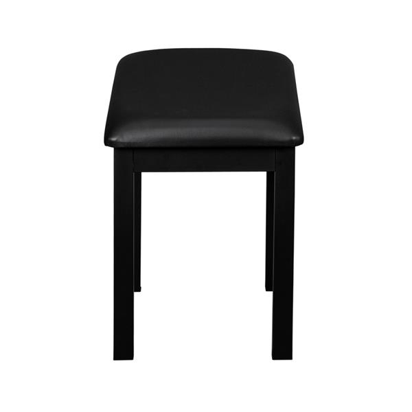 [Do Not Sell on Amazon]Glarry Demountable Piano Bench Stool Keyboard Bench Iron-made Legs 220lbs / 100kg